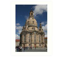 Frauenkirche, Dresden, Germany Art Print