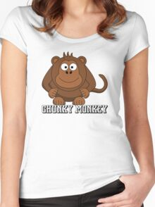Chunky Monkey Women's Fitted Scoop T-Shirt