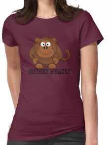Chunky Monkey Womens Fitted T-Shirt