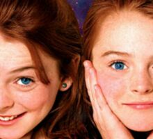 Lindsey Lohan child star the parent trap Sticker