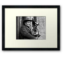Photo man  Framed Print