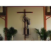 Crucifix... Photographic Print