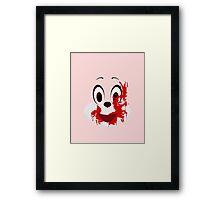 Robbie the Rabbit Framed Print