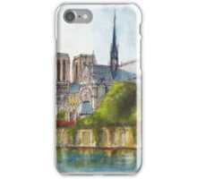 Notre Dame Cathedral, Paris iPhone Case/Skin