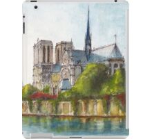 Notre Dame Cathedral, Paris iPad Case/Skin