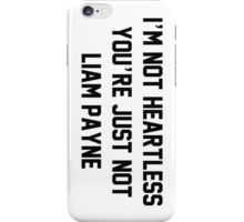 NOT HEARTLESS - LP iPhone Case/Skin