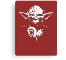 DJedi Yoda Canvas Print