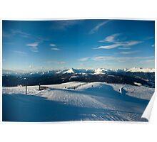 Neverending slopes Poster