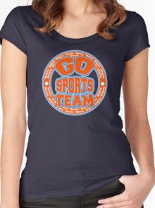 Go Sports Team Women's Fitted Scoop T-Shirt