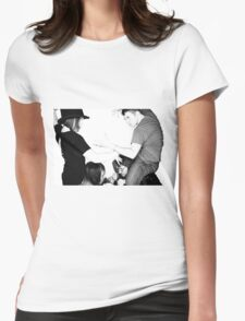 The Duel Womens Fitted T-Shirt