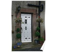 The Old Farmhouse Door Poster