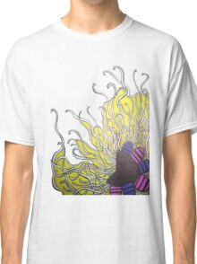 Abstract Flower with Tentacles Classic T-Shirt