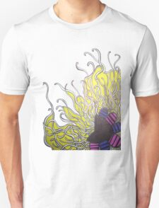 Abstract Flower with Tentacles T-Shirt