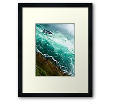 and away we go. Framed Print