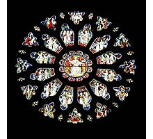 The Rose Window, Bristol Cathedral UK Photographic Print
