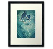 OCEANIC FAIRYTALES - Meeting the bride Framed Print