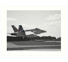 Spanish Air Force F18 Art Print