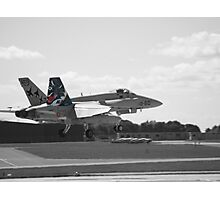 Spanish Air Force F18 Photographic Print