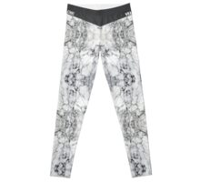 Aria by Vrai Chic (Trendy Marble Hipster) Leggings