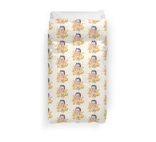 Honey Cas Duvet Cover