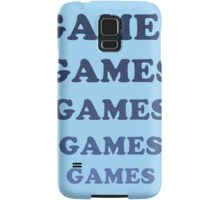 Games Games Games Samsung Galaxy Case/Skin