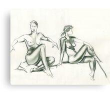 Two Views Canvas Print