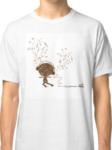 Music feeling Doodle Classic T-Shirt