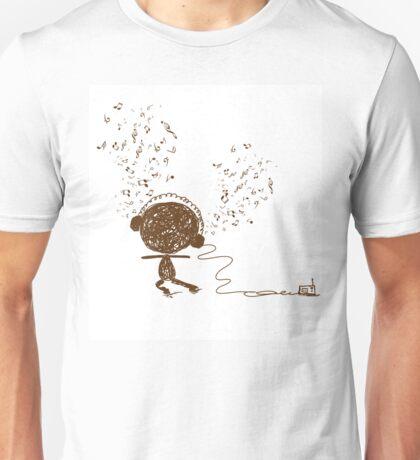 Music feeling Doodle Unisex T-Shirt