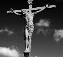 Christ Crucified by Bonnie T.  Barry