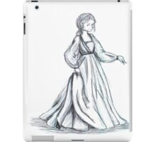 Girl with the Fine Dress iPad Case/Skin