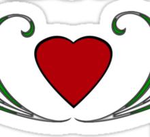 Love is a rush Sticker