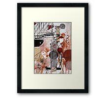 Composition Framed Print