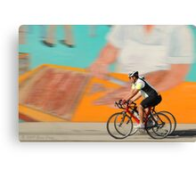 A ride on a sunny day Canvas Print