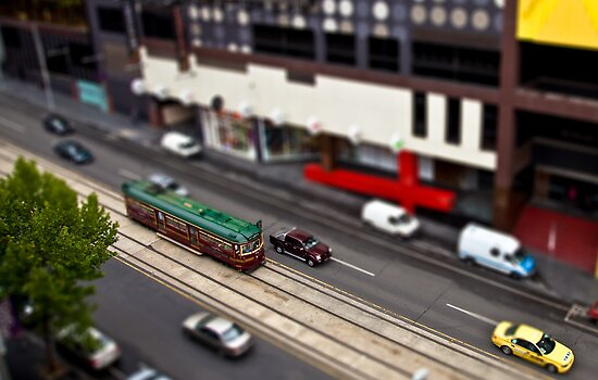 City Circle Miniature by Jared Revell