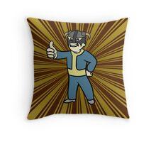 VaultBorn Throw Pillow