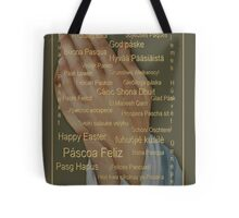 Happy Easter From Around The World (languages) Tote Bag