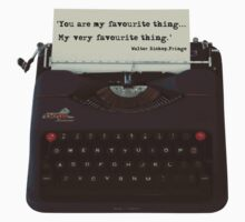 You are my Favourite Thing, typewriter Kids Clothes