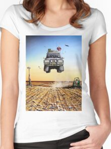 Are We There Yet?! Toyota Women's Fitted Scoop T-Shirt