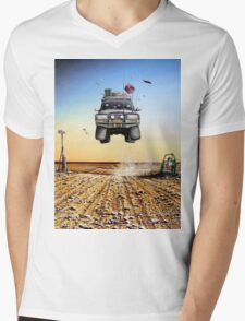 Are We There Yet?! Toyota Mens V-Neck T-Shirt