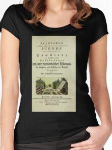 Plantarum Indigenarum et Exoticarum - Lukas Hochenleitter und Kompagnie 1788 - 062 Women's Fitted Scoop T-Shirt