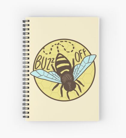 Buzz Off Spiral Notebook