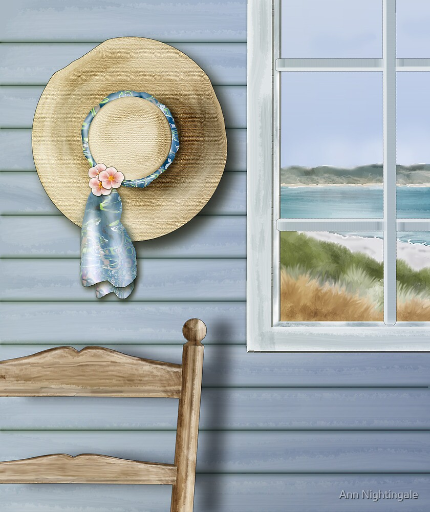 The Straw Hat by Ann Nightingale