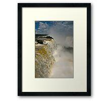 Iguazu Falls, Brazil Framed Print