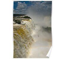 Iguazu Falls, Brazil Poster