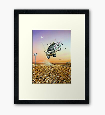 Are We There Yet! Framed Print