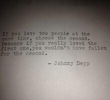 Johnny Depp by josephiny
