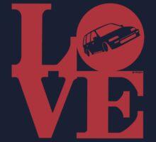 LOVE Wagon Kids Tee