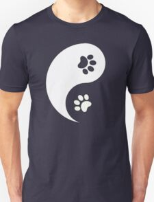 Yin and Yang - Paw Prints T-Shirt