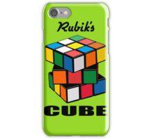 Rubik's Cube iPhone Case/Skin