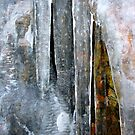 Abstract in Ice by Tibby Steedly